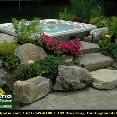 The 25 Best Hot Tubs Landscaping Ideas On Pinterest Hot Backyard Tub Landscaping