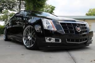 Cadillac Aftermarket Wheels Wheel Offset 2011 Cadillac Cts Coupe Nearly Flush Dropped