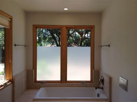 frosted window film for bathroom decorative privacy glass plus