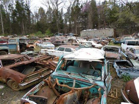 Jaguar Auto Salvage Yards by Carolina Classic Car Junkyard Wrecked Vintage