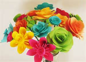 Make Your Own Paper Flowers - paper flowers assorted make your own bouquet 20 qty any color