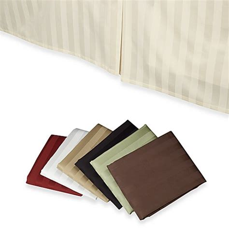 bed skirts bed bath and beyond wamsutta 174 500 damask bed skirt bed bath beyond