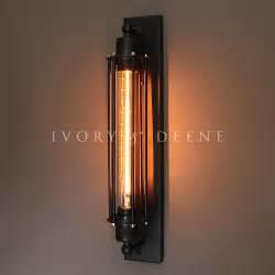 Lamps Plus Wall Sconces Matt Black Industrial Studio Sconce Wall Light Edison