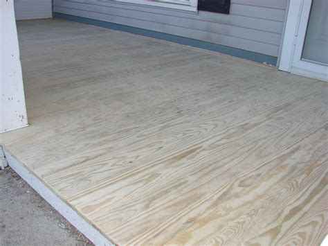Porch Plans Treated Wood Porch Floor Replacement Bryan Ohio