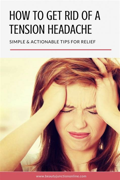 25 best ideas about tension headache relief on