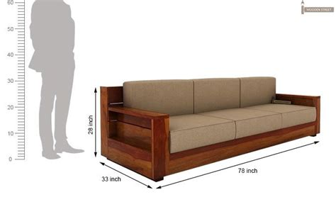 3 Seater Wooden Sofa by Best 25 Wooden Sofa Ideas On Wooden Sofa Set