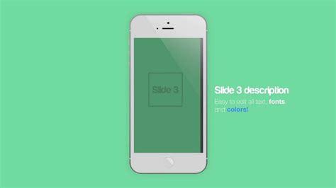 apple motion  template iphone app  theme promo