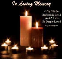 best in loving memory in memoriam poems verses on cards