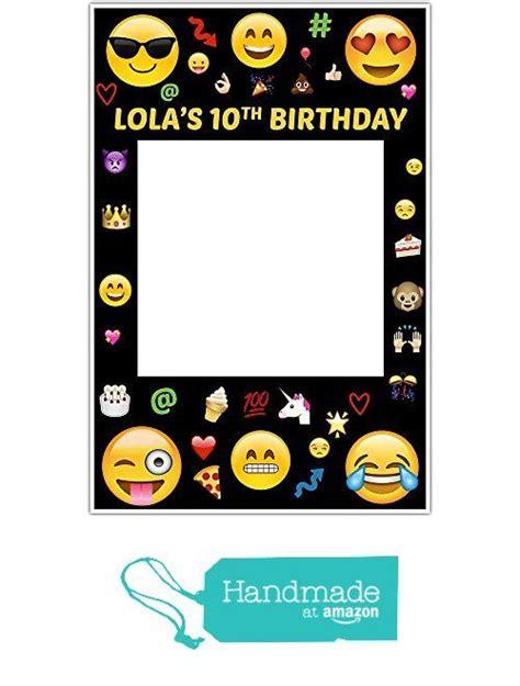 film frames emoji emoji selfie frame social media frame photo booth prop