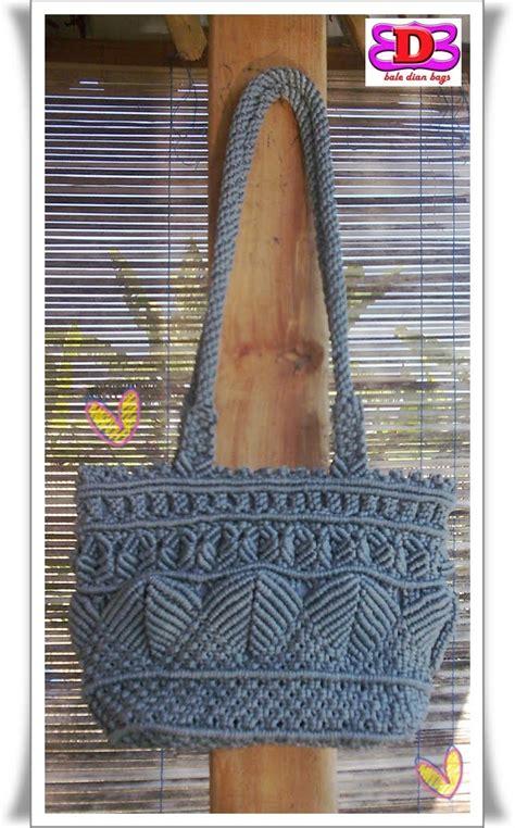 cara membuat tas tali kur dari awal sai selesai hom house of macrame tas tali kur