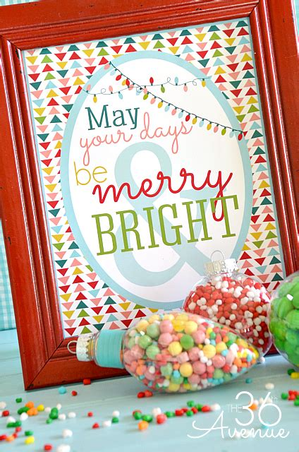 merry bright christmas printables for framing i dig pinterest 20 fabulously free christmas printables