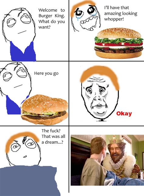Meme Burger - burger king logo subliminal message memes