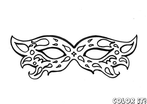 mask coloring pages free mask coloring pages with carnival mask coloring pages
