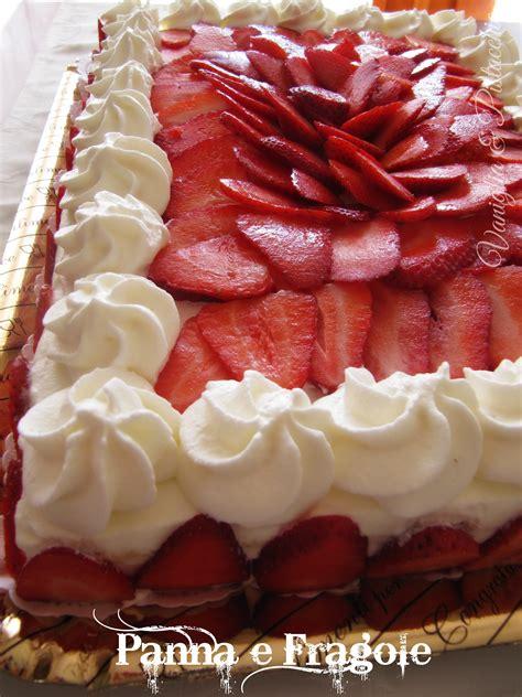 bagna per torte alla fragola torta panna e fragole vaniglia e pistacchio