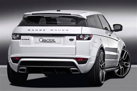 range rover evoque back caractere range rover evoque modified autos world blog