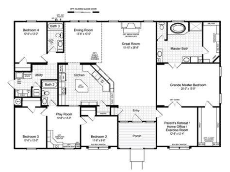 hacienda floor plans view the hacienda ii floor plan for a 2580 sq ft palm