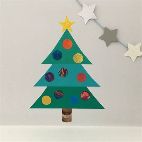 decorate your own christmas tree wall sticker by chameleon