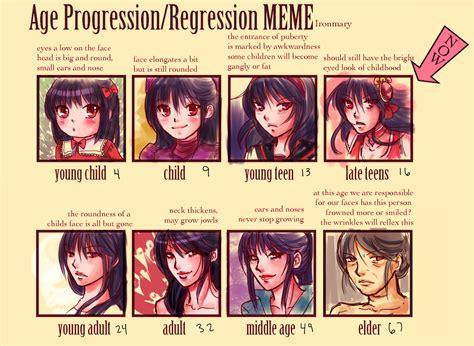 Meme Age - age pro regression meme d by chibiveechan on deviantart