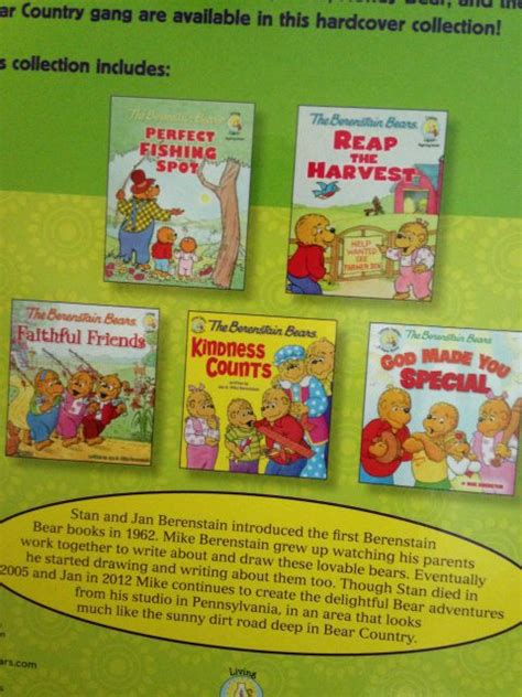 the berenstain bears blessings berenstain bears friendship blessings collection by jan
