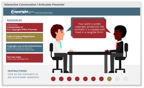 Free Powerpoint Template Conversation Interaction The Rapid E Learning Blog Powerpoint Interactive Templates