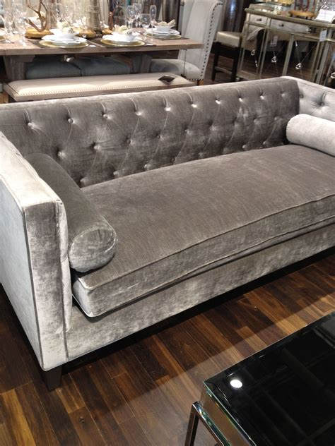 tufted grey home living areas velvet tufted