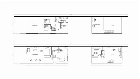 eames house site plan unique home floors design concept