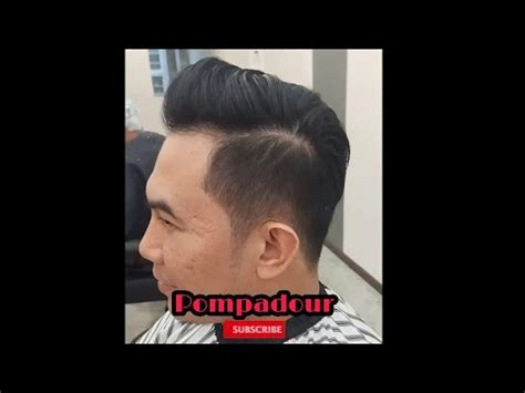 pompadour hairstyle youtube