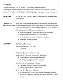 Simple Resume Template Free Basic Resume Template 51 Free Samples Examples Format