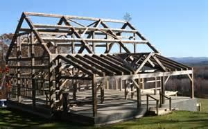 barn home construction traditional timber frame barn weathered post beam barn