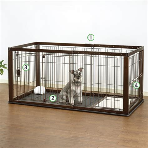 Octagon Pet Carrier 083 Tray L 62 X 39 X 38 Richell Expandable Pet Crate With Floor Tray