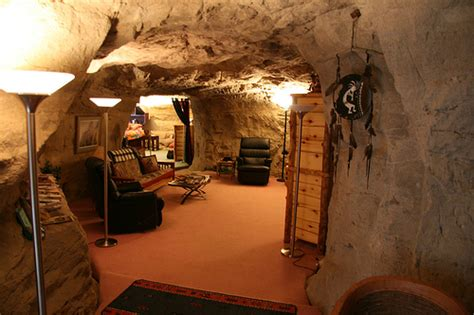 cave living room cave living room flickr photo