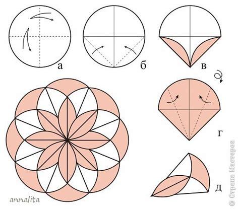 Origami Circle Paper - 171 187