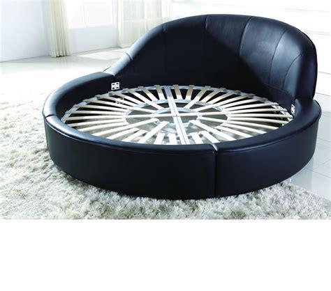 modern round bed dreamfurniture com b807b modern round bed