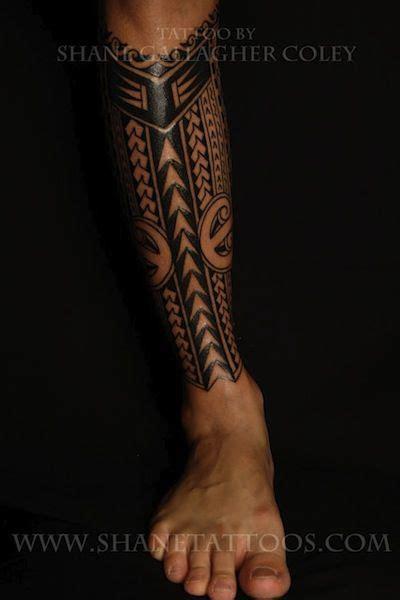 tribal leg sleeve tattoos tribal leg sleeve pin polynesian tribal leg on