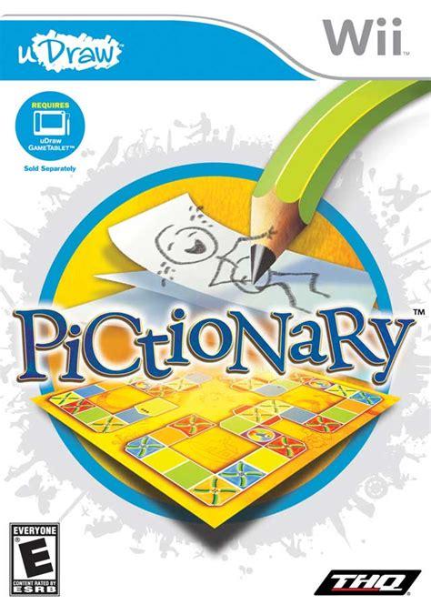 gioco da tavolo pictionary pictionary nintendo wii