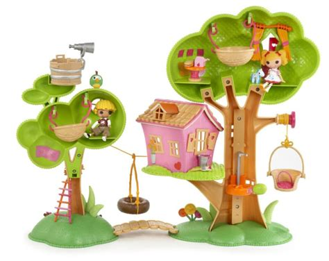 lala loopsy doll house mini lalaloopsy treehouse clubhouse playset