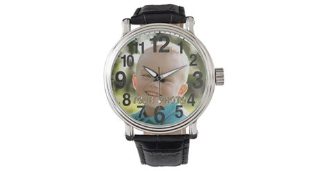 personalized picture watches for zazzle
