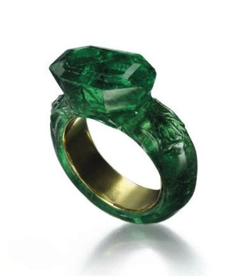 e is for emerald smooth emerald rings and green lanterns