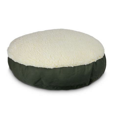 round pillows for bed replacement cover round pillow dog bed with cream fur 39