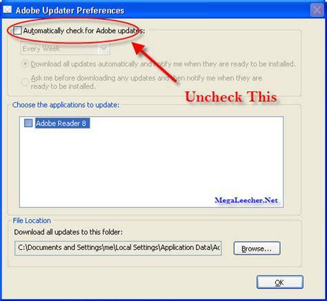 adobe update adobe software update