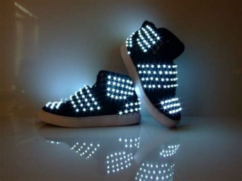 light up shuffle shoes details zu neu led herren schuhe dance shoes tanz