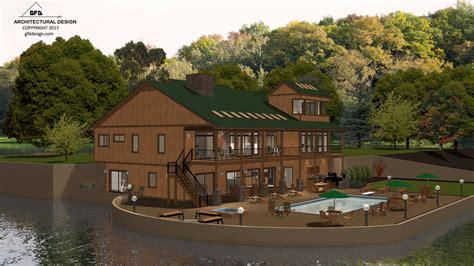 Mountain Lakes House by Mountain Lake House Concept Home Design 3d