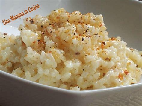 come cucinare il riso in bianco e avanzato riso in bianco
