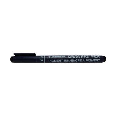 Snowman Drawing Pen 0 4mm jual drawing pen terbaru kualitas terbaik