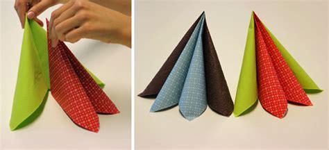 servietten arten servietten falten effektvolle tischdeko schnell bis