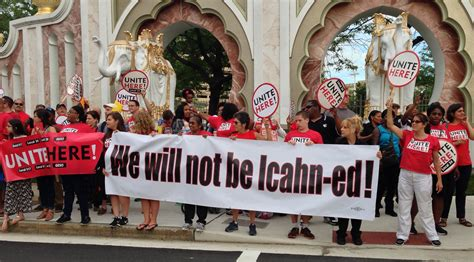 boards ichan nj afl cio board votes to not patronize icahn owned ac
