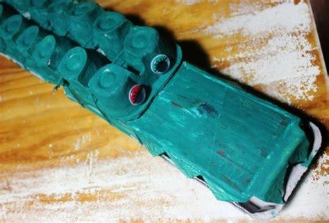 Krokodil Basteln Eierkarton by Recycling Basteln Mit Eierkarton 42 Kreative Und