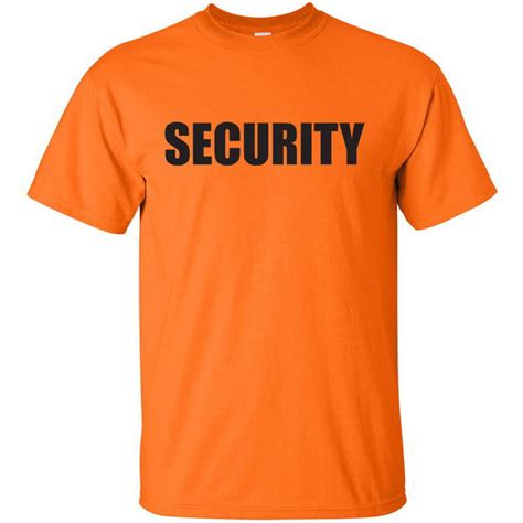 Tshirt Event Security security bouncer concert event staff official cheap