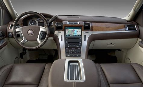 Escalade Platinum Interior car and driver