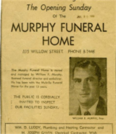 murphy funeral home inc history